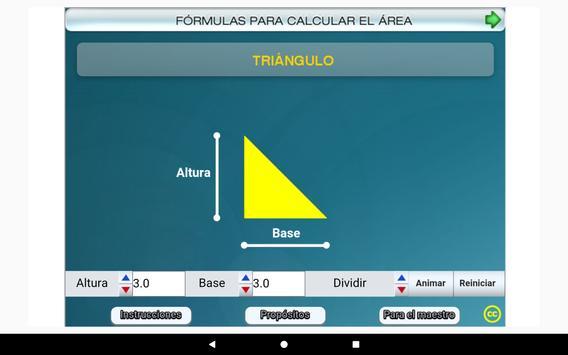 Fórmulas geométricas Primero Secundaria screenshot 8