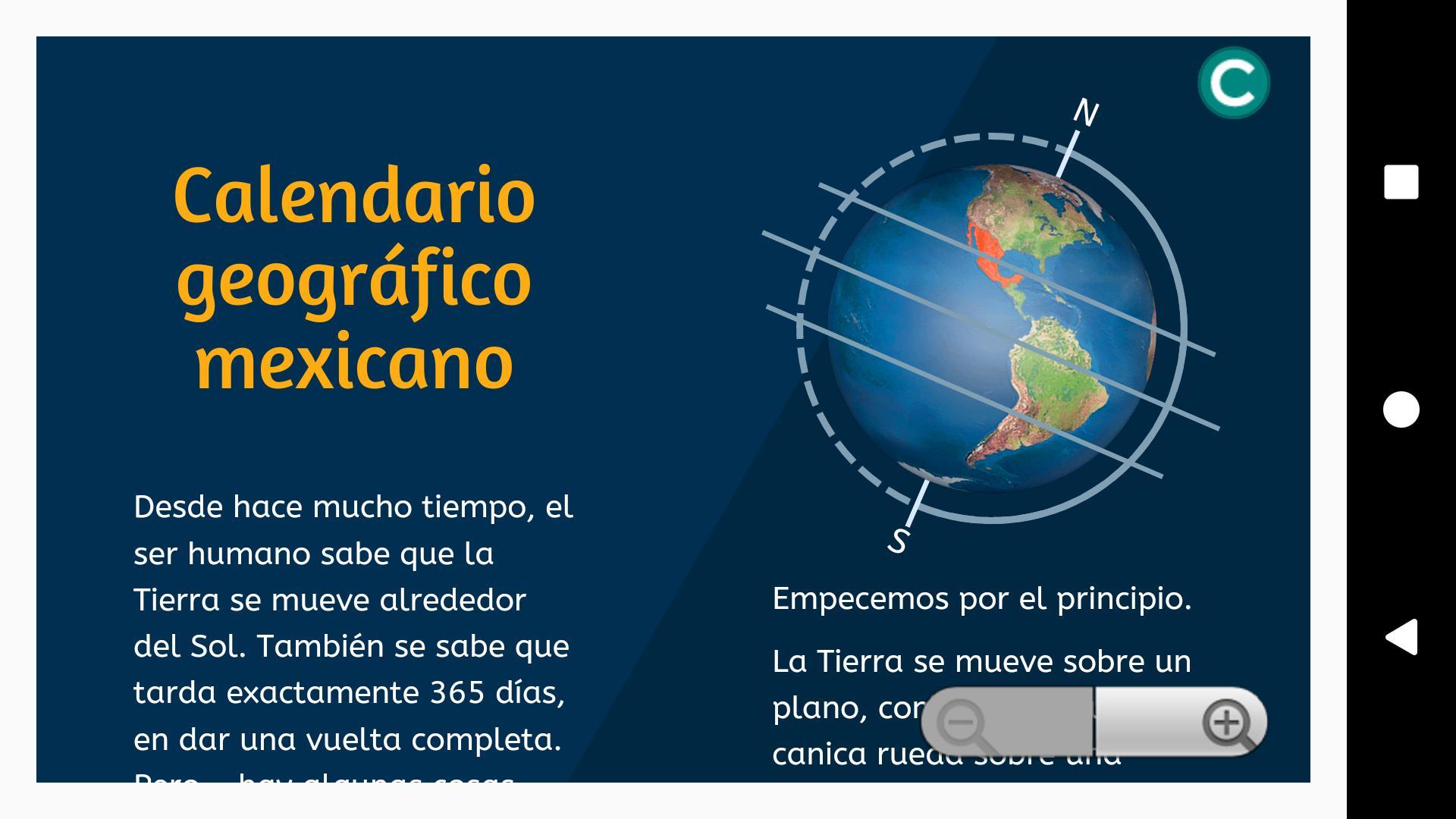 Calendario Geográfico 5° Prim  para Android - APK Baixar