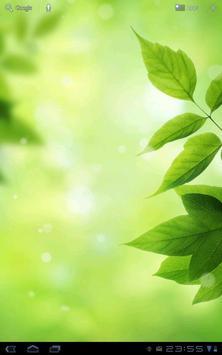 Leaves - Bokeh Live Wallpaper poster
