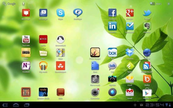 Leaves - Bokeh Live Wallpaper screenshot 1