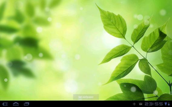 Leaves - Bokeh Live Wallpaper screenshot 3