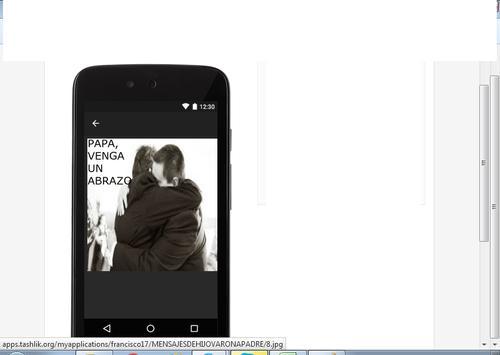 MENSAJES DE HIJO VARON A PAPA apk screenshot