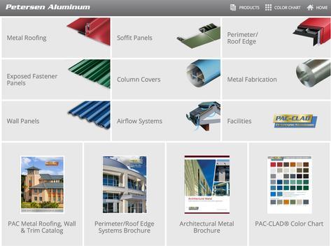 PAC-CLAD Petersen Aluminum screenshot 1