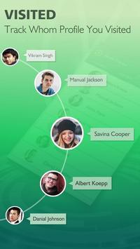 1 Schermata Who Visit My Watsapp Profile? Whats Tracker Friend