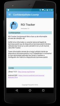 RGI Tracker apk screenshot