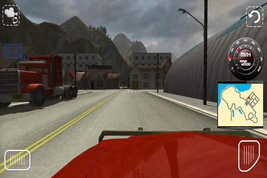 Truck Simulator Scania 2015 screenshot 1