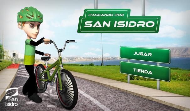 Paseando por San Isidro poster