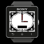 Single TIME WATCH SW2 free icon