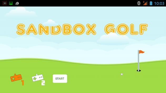 Sandbox Golf poster