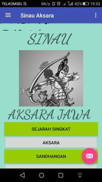Sinau Aksara poster
