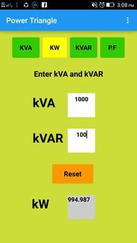 Transformer Kva Chart