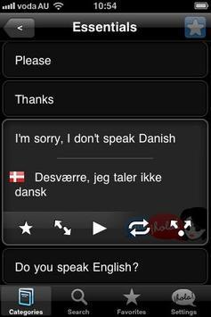 Lingopal Danish Lite poster