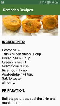 Ramadan Recipes screenshot 2