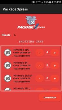Package Express apk screenshot