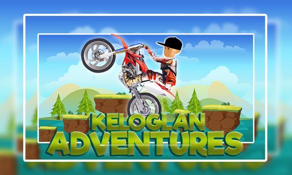 Keloglan Motorbike Venture poster
