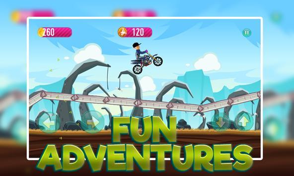 Keloglan Motorbike Venture apk screenshot