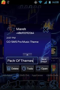 Music Theme for GO SMS Pro screenshot 2