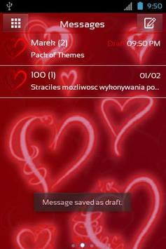 Theme Romantic for GO SMS Pro poster