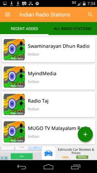 Indian Radio Stations poster