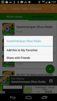 Indian Radio Stations apk screenshot