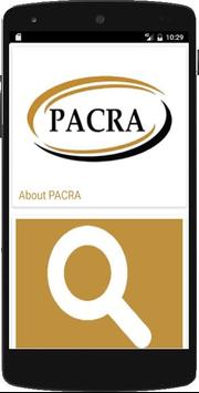 PACRA poster