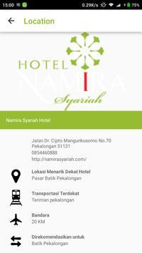 Namira Syariah Hotel apk screenshot