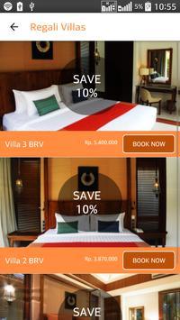 Regali Villas Bali apk screenshot