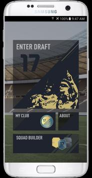 FUT 17 DRAFT by PacyBits poster