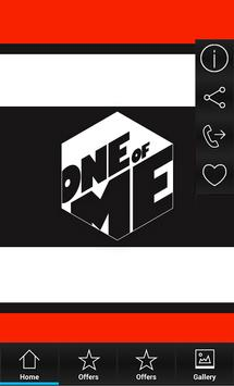 One Of Me poster