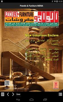 Panels & Furniture MENA poster