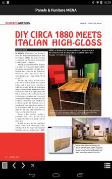 Panels & Furniture MENA apk screenshot