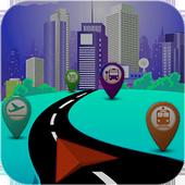 Navigation GPS icon
