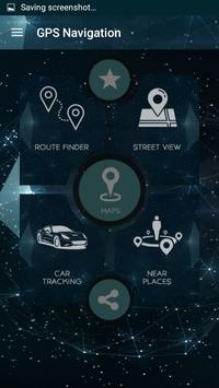 Navigation GPS poster