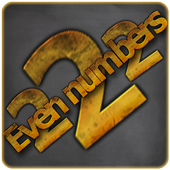 Evenumber icon
