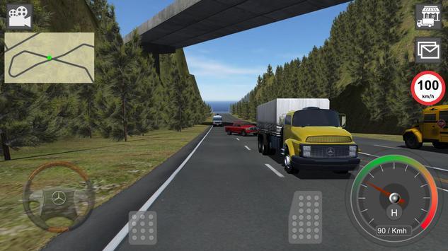 Mercedes Benz Truck Simulator poster