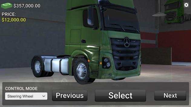 Mercedes Benz Truck Simulator screenshot 14