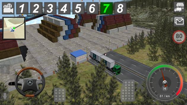 Mercedes Benz Truck Simulator screenshot 10
