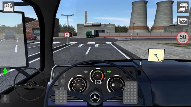 Mercedes Benz Truck Simulator apk screenshot