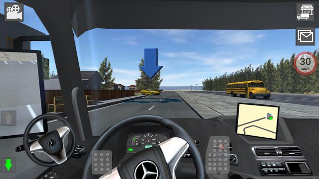 Mercedes Benz Truck Simulator screenshot 23