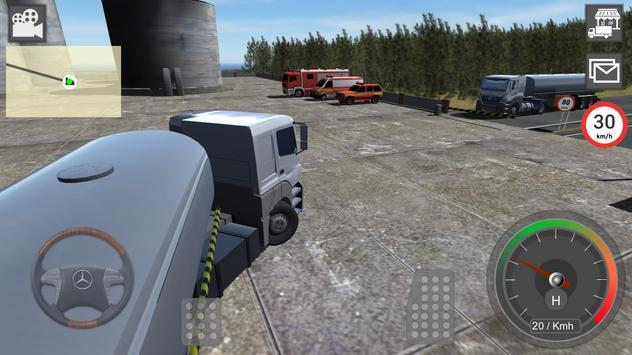 Mercedes Benz Truck Simulator screenshot 4
