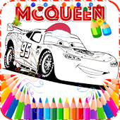 Mcqueen Coloring Cars Game 🎨 icon