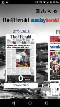 The Herald & Sunday Herald App poster