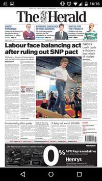 The Herald & Sunday Herald App apk screenshot