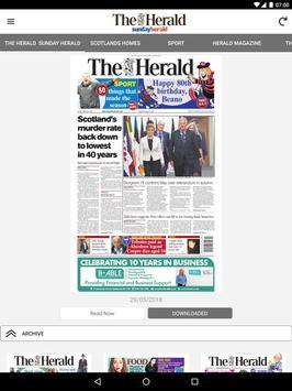 The Herald Newspaper apk screenshot
