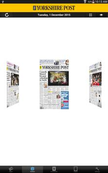 The Yorkshire Post Newspaper apk screenshot