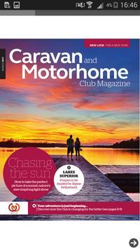Caravan and Motorhome Club Mag screenshot 1