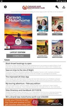 Caravan and Motorhome Club Mag screenshot 5