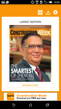 Construction Week India poster