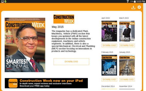 Construction Week India screenshot 6