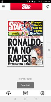 Daily Star Newspaper poster